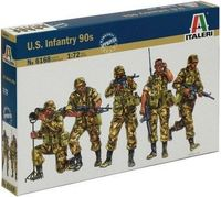 "Набор миниатюр ""Пехота США 90-тые"" (масштаб: 1/72)"