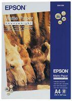 Плотная матовая ярко-белая фотобумага Epson (50 листов, 167 г/м2, A4)