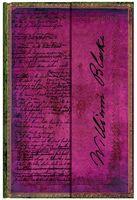 """Записная книжка Paperblanks """"Блейк, Поэмы"""" в линейку (формат: 100*140 мм, мини)"""