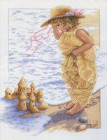 """Вышивка крестом """"Замки из песка"""" (арт. DMS-13730)"""