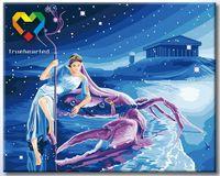 """Картина по номерам """"Рак"""" (400x500 мм; с люминесцентной краской; арт. YH4050004)"""