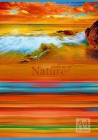 """Тетрадь A4 в клетку """"Краски природы"""" 80 листов"""