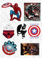 "Набор виниловых наклеек №585 ""Marvel"""