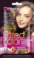 """Крем-краска для волос """"Effect Сolor"""" (тон: 5.3, золотистый каштан)"""