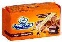"""Вафли """"Сладонеж. С шоколадным кремом"""" (170 г)"""