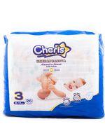 "Подгузник ""Cheris 3"" (6-11 кг; 26 шт.)"