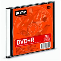 Диск DVD+R 4.7 Gb 16х Acme Slim Case