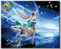 """Картина по номерам """"Стрелец"""" (400x500 мм; с люминесцентной краской; арт. YH4050009)"""