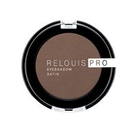 """Тени для век """"Relouis Pro Eyeshadow Satin"""" (тон: 34, cinnamon)"""