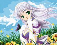 """Картина по номерам """"Цветочная фея"""" (300х400 мм; арт. PC3040024)"""