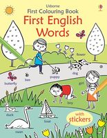 First Colouring Book. First English Words