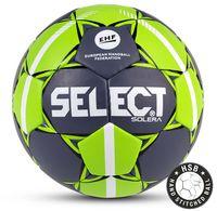 """Мяч гандбольный Select """"Solera IHF"""" №3 (серый/лайм)"""