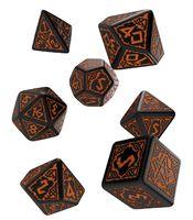"Набор кубиков ""Pathfinder. Hell's Vengeance"" (7 шт.; черно-оранжевый)"