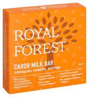 """Шоколад из кэроба """"Royal Forest. С апельсином, имбирем и корицей"""" (75 г)"""