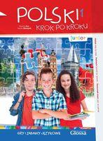 Polski krok po kroku. Gry i zabawy językowe. Junior 1