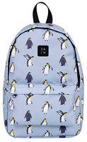 """Рюкзак """"Пингвины"""" (голубой)"""