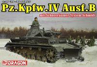 """Средний танк """"Pz.Kpfw.IV Ausf.B mit Schneeräumer System Schmidt"""" (масштаб: 1/35)"""