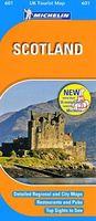Scotland: UK Tourist Map