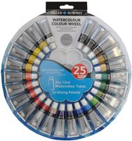 "Краски акварельные ""Color Wheel"" (24 цвета х 12 мл)"