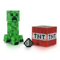 Фигурка Minecraft Creeper с аксессуарами (6 см)