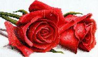 """Алмазная вышивка-мозаика """"Алые розы"""""""