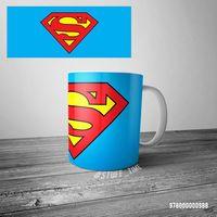 "Кружка ""Супермен"" (арт. 988)"