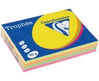 "Бумага ""Trophee. Fluo"" (А4; 500 листов; 80 г/м2; 4 цвета)"