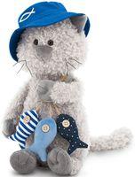 """Мягкая игрушка """"Кот Обормот. Рыбак"""" (20 см; арт. OS686/20)"""