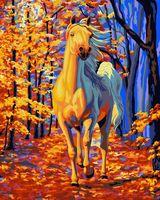 "Картина по номерам ""Конь в лучах заката"" (400х500 мм)"