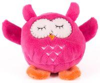 """Мягкая игрушка """"Розовая сова"""" (7 см)"""
