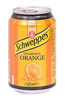 """Напиток газированный """"Schweppes. Orange"""" (330 мл)"""