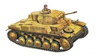 "Легкий танк ""PZ. KPFW. II AUSF. F"" (масштаб: 1/72)"