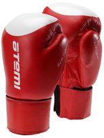 Перчатки боксёрские LTB19009 (12 унций; красно-белые/мишень)