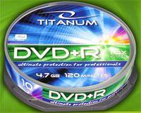 Диск DVD+R 4.7Gb 16x Esperanza Titanium CakeBox 10