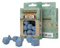 """Набор кубиков """"Pathfinder. Ruins of Azlant"""" (сине-оранжевый; 7 шт.)"""