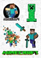 "Набор виниловых наклеек №591 ""Minecraft"""