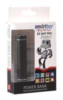Внешний аккумулятор (Power bank) SmartBuy EZ-BAT PRO, 2500 мАч, черн (арт.SBPB-2000)/60