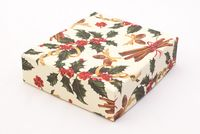 "Подарочная коробка ""Holly and Cinnamon"" (13x15x4 см)"