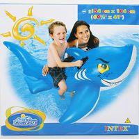 """Приспособление надувное детское с держателями """"Акула"""" (154х104 см; арт. I03210170)"""