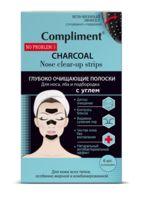 """Очищающие полоски для лица """"Charcoal"""" (6 шт.)"""
