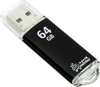 USB Flash Drive 64Gb SmartBuy V-Cut USB 3.0 (Black)