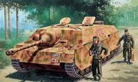 """САУ """"Jagdpanzer IV Ausf. f Sd. Kfz. 162"""" (масштаб: 1/72)"""
