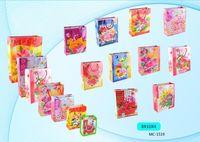 """Пакет бумажный подарочный """"Цветы"""" (в ассортименте; 8x10x4 см; арт. МС-1519)"""