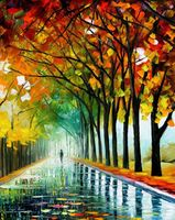 "Картина по номерам ""Осенние дожди"" (400х500 мм)"