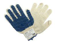Перчатки для садовых работ текстильные (М; 1 пара)