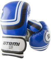 Перчатки боксёрские LTB-16111 (S/M; синие; 10 унций)