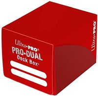 "Коробочка для карт ""PRO Dual Small"" (120 карт; красная)"