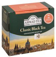 """Чай черный """"Ahmad Tea. Классический"""" (40 пакетиков)"""