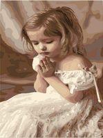 """Картина по номерам """"Молитва"""" (400х500 мм)"""