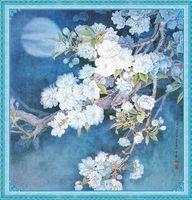 """Алмазная вышивка-мозаика """"Яблоня в цвету"""""""